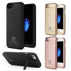 3200/4800 mAh External Backup Battery Charger Case Cover For iPhone 7/7Plus