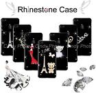 For ZTE Blade L3 Plus Case Cover DIY Rhinesone Crystal Hard Clear Bling Luxury