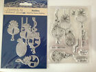 Tattered Lace Die - The Magic Of Christmas 'BAUBLES' & Stamp Set (ETL343) NEW