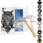 "For Doogee Y300 Y300 Pro 5.0"" 2X Tempered Glass Film Soft TPU Cover Case Batman"