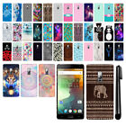 For OnePlus 2 Two Design PATTERN HARD Protector Back Case Phone Cover + Pen