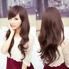 New Women's Sexy Long Curly Wavy Full Wig Heat Resistant Hair 3 Colors Cosplay