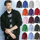 4 X L & 5 X Large Forest Green and Pink Zip Hood Sewatshirts