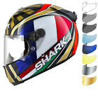 Shark Race-R Pro Carbon Zarco Replica Motorcycle Motorbike Bike Helmet & Visor