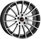 Alloy Wheels 18'' Project-A Sprint Black Polished Face For VW Passat [B7] 10-14