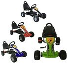 FoxHunter Kids Go Kart Ride On Car Pedal With Plastic Wheels Handbrake Seat G04