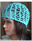 Hand Crochet Beanie Hat Cloche Cap New Fine Mesh Choice OOAK Ready to Ship!