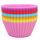 Hot Silicone Cake Muffin Chocolate Cupcake Bakeware Baking Cup Mold Plate Pan