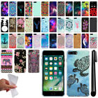 "For Apple iPhone 7 Plus 5.5"" Cute Design TPU SILICONE Rubber Case Cover + Pen"