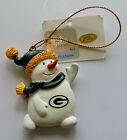 Pick Your NFL Football Team Resin Snowman Holiday Xmas Christmas Tree Ornament