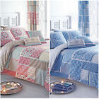 Moroccan & Patchwork Patterned Duvet Cover Set with Pillowcase - Reversible