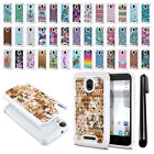 For Alcatel Dawn 5027/Streak/Ideal 4060A Anti Shock Bling HYBRID Case Cover +Pen