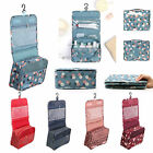 Luxury Ladies Wash Bag Toiletry Cosmetic Travel MakeUp Hanging Folding Organizer