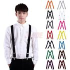 "Внешний вид - Men's Big and Tall X-Back Clip Suspenders 1.5"" Wide Adjustable 55"" Long"