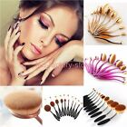 10x Set Oval New Pro New Professional Toothbrush Shape Makeup Kabuki Brushes st2