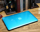 "Sky Blue Crystal Plastic Hard Case for MacBook 12"" Air PRO Retina 11"" 13"" 15"""