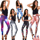 Purple Space Cloudy Printed Leggings Wholesale Legging Ankle Pants Fast Shipping