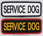 1 SERVICE DOG PATCH 1.5X4 INCH Danny & LuAnns Embroidery assistance support