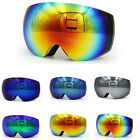 Frameless Snowboard Snowmobile Professional Ski Goggles Anti Fog UV Double Lens