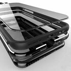 Hybrid Shockproof Aluminum Metal Rubber Clear CASE Cover For iPhone 6 6s 7 Plus