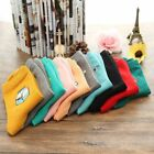 2016 Fashion Ankle Sock Embroidery Womens Girls Cotton Socks Casual One Size