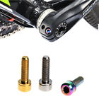 M5x18mm Bicycle MTB Bolt Mountain Bike Ultralight Stem Screw With Washers Gasket