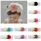 Kids Baby Girl Cute Toddler Lace Flower Headband Hair Band Headwear Accessories