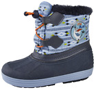 Disney Frozen Olaf Snow Boots Waterproof Olaf Rain Wellies Kids Warm Winter Size