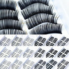 10 Pairs Handmade Natural Long Cross Thick False Eyelashes Fake Eye Lashes NEW h