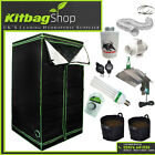 Hydroponic Grow Room Tent Fan Filter CFL Light Kit 1.0 x 1.0 x 2.0 1m x 1m