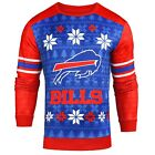 Forever Collectibles NFL Men's Buffalo Bills Printed Ugly Sweater