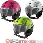 Shark SK Prima Volta Open Face Motorcycle Helmet Urban Anti-Scratch Motorbike