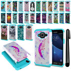 For Samsung Galaxy J3 J310 J320/J3 V/Sky S320 Hybrid Shock Proof Case Cover +Pen