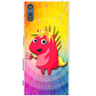 Mythical Magical Unicorns Dressing Up Hard Back Case Cover for Sony Xperia XZ
