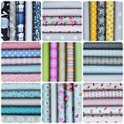 100% Cotton Fabric Bundles New On Trend 2017 Assorted Charm Patchwork Craft