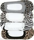 Ladies-OS-Regular Zebra/Leopard No Show Ballet/Slipper Low Liner Socks #AP