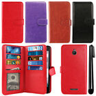 For Alcatel Dawn 5027/ Streak/ Ideal 4060A Card Holder Wallet Cover Case + Pen