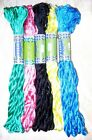 SILK EMBROIDERY THREAD 5 SKEINS 400 mts Multi Color Shades S11 photo Lot #392I0