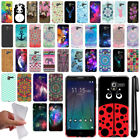 "For Alcatel TRU 5065 Stellar Pop 3 5"" Cute Design TPU SILICONE Case Cover + Pen"