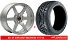 Alloy Wheels & Tyres 17'' Axe EX24 For VW Golf Plus 05-09