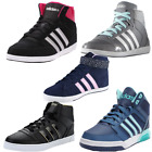 Adidas Neo Hoops Vulc Daily Twist Mid Trainers Hi Top Vl Gym Sports Shoes  Women