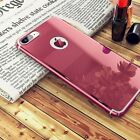 Latest Mirror Cover Metal Slim Hard Back Shockproof Case For iPhone 6 6s 7 Plus