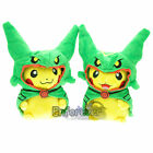 New Pokemon cosplay pikachu with rayquaza hat Plush Soft Toy Dolls