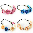 5Pcs / Lot  Floral Flower Party Wedding Hair Wreaths Headband Hair Band