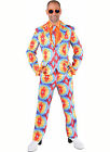 Bright Pattern Party Suit - Party Animal / Clown (Baltic Pattern)  - XS-XXL