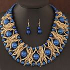 Boutique Jewelry Sets For Women Gold  African Beads Jewelry Set Party Accessorie