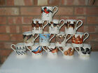 Emma Bridgewater Large Collection of ½ Pint Mugs – 13 Designs - Brand New