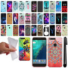 "For Google Pixel 5"" HTC Cute Design TPU SILICONE Soft Case Phone Cover + Pen"