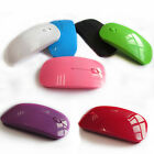 Pro USB Wireless Mouse Mice 2.4G Receiver Thin Optical DPI For Apple Macbook PC