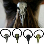 1Pc Women Pro Hair Raven Skull Hair Tie Holder Headbands Punk Hair Accessory